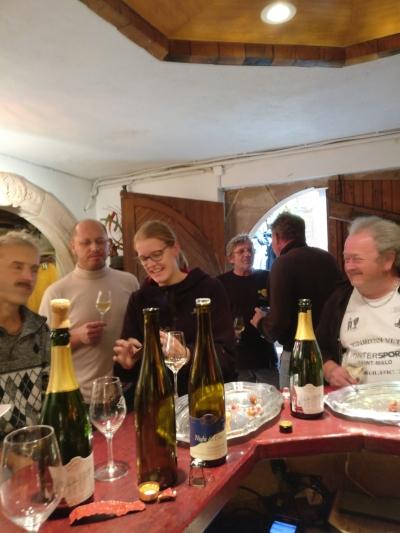 repas des vendangeurs 2017 gloeckler brenner vignerons alsace
